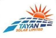 Tayan Solar - Leveraging solar energy to provide uninterrupted power supply.